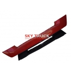 Бампер HOWO A7 (пластик) красный WG1664240005/1-red верхняя часть