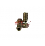 Болт топливный обратки полый D-8mm L-19mm HOWO FAW VG1540080081