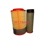 Фильтр воздушный FAW-3312 3252 (малый) комплект 2шт 1109060-385