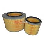 Фильтр воздушный FOTON-4253 Тягач 1424211900010 KL4225 KL4226 K4225 (к-т 2шт)