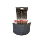 Колодка тормозная задняя сроликом FAW-3252 FAW-3312 2011г. 3502375-A0E-ROLIK