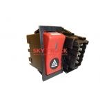 Выключатель-клавиша аварийной сигнализации Shacman Shaanxi F3000 81.25505.6291