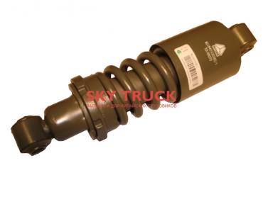 Амортизатор кабины HOWO с пружиной регулируемый WG1642430385