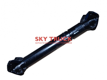 Вал карданный DONG FENG L=1150 фланец 180 4отв. торц.зуб 2201010-T2201