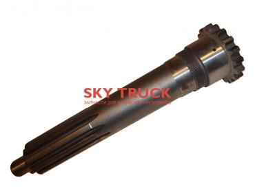 Вал КПП FULLER первичный вал 51 мм КПП 9ст  JS180A-1701030