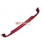 Бампер HOWO A7 нижняя часть красный WG1664240006/1-red (метал)