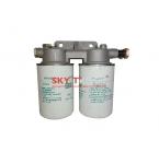Фильтр топливный (Блок фильтров 2 шт с кронштейном) Евро-3 HOWO WK940/20 VG1540080330 VG1540080310