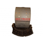 Колодка тормозная задняя 3502375-А0Е FAW-3252 FAW-3312 2011г. 3502375-A0E