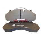 Колодки тормозные переднии HOWO-A7 дисковый тормоз к-т 2шт 2011г WG9100443050/1