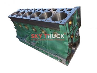 Блок цилиндров двигателя WD615 Евро-2 61500010356B (с короткой крышкой) 61500010383