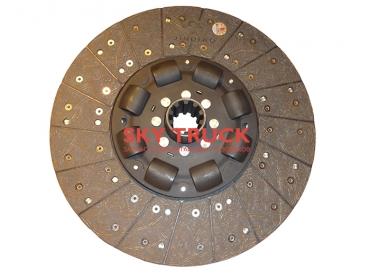 Диск сцепления 430мм ступица 50.8мм Shaanxi MAN F2000 F3000 DZ1560160014-50.8