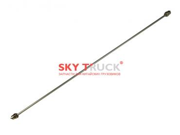 Трубка топливная L-785мм резьба М14х1,25 под ключ 19